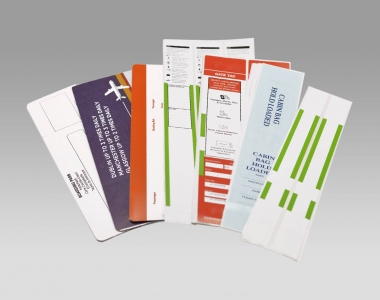 Tungate Luggage Tags and Boarding Cards